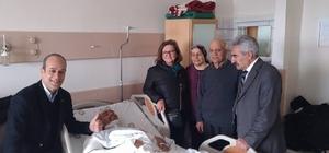 CHP Beylikova eski İlçe Başkanı Güven trafik kazası geçirdi