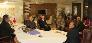 Sivil toplum kuruluşları Rektör Bağlı'yı ziyaret etti
