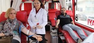 """""""Vatan Sana Kanım Feda"""" kan bağışı kampanyası"""