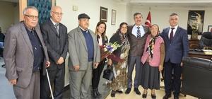 Başkan Şirin, huzurevi sakinlerini ağırladı
