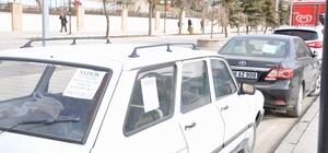 Yozgat'ta caddeler oto galeriyi aratmıyor