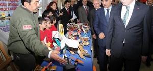 Sivas'ta Nuri Demirağ Havacılık Sergisi açıldı