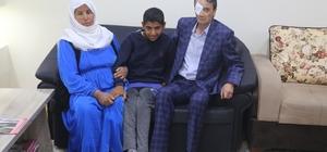 Silopi'de engelli gencin tek hayali akülü araç sahibi olmak