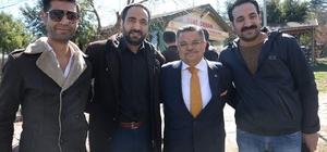 Başkan Yağcı ve AK Parti teşkilatı kuaför esnafıyla buluştu