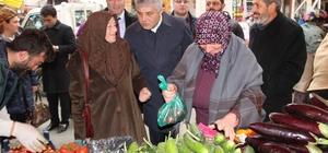 AK Parti Trabzon Milletvekili Adnan Günnar referandum gezilerini sürdürüyor