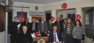 """MHP İlçe Başkanı Ramazan Ayva, """"Millet, devlet ve geleceğimiz için 'evet' diyeceğiz"""""""