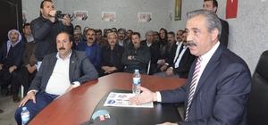 Eski Milletvekili Zülfikar İzol, aşiret mensuplarına Cumhurbaşkanlığı Hükumet Sistemini anlattı