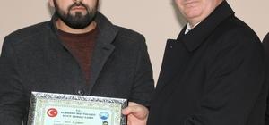 Elmadağ'da Kur'an kursu öğrencileri sertifikalarını aldı