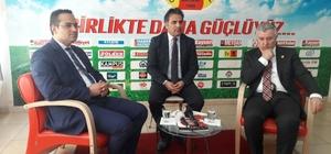 İzmir Bornova Belediye Başkanı Atilla'dan Kayseri Gazeteciler Cemiyeti'ne ziyaret