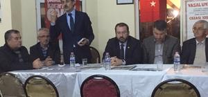 Başkan Alemdar Çubuklu'ya misafir oldu