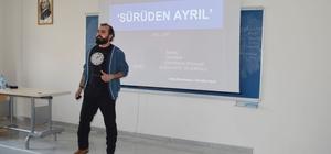 SMYO'da 'Sürüden Ayrıl' isimli seminer düzenlendi