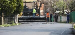 Akyazı'da asfalt seferberliği başladı