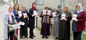 Ak Partili kadınlar, referandum çalışmalarını sürdürüyor