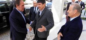 TFF heyeti, Antalyaspor'un tesislerini ziyaret etti