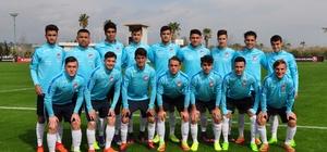 17 Yaş Altı Futbol Milli Takımı elit tura hazır