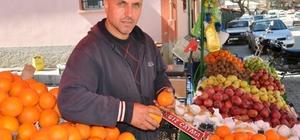 Simav'da meyve fiyatları tavan yaptı