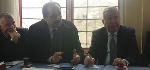 AK Partili Balta referandum çalışmalarını sürdürüyor