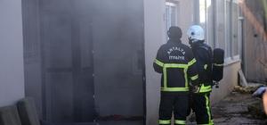 Kapatılan FETÖ yurdunda yangın