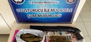 Malatya'da uyuşturucuyla mücadele