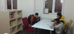 Okuma salonlarına yoğun ilgi