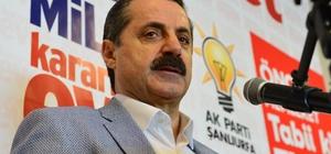 Gıda, Tarım ve Hayvancılık Bakanı Çelik Şanlıurfa'da