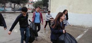 Burhaniye'nin çevre dostu öğrencileri