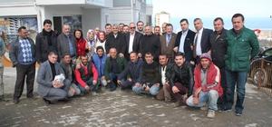 AK Parti Trabzon Milletvekilleri Günnar ve Cora'dan referandum gezileri