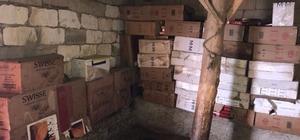 Van'da 71 bin 500 paket kaçak sigara ele geçirildi