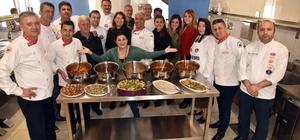 Usta aşçılar Alanya yemeklerini öğrendi