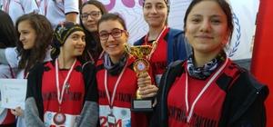 15 Temmuz Şehitler Fen Lisesi Oryantiring'de Türkiye derecesi aldı