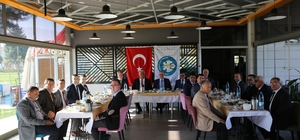 Başkan Ergün'den hizmet buluşması