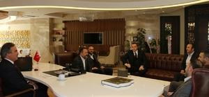 AK Parti Adana Milletvekili Dağlı ve Aladağ Belediye Başkanı Akgedik Rektör Bağlı'yı ziyaret etti