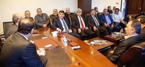 Tayyar ile Fadıloğlu'na destek KÜSGET üyelerinden tam destek