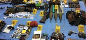 Ağrı'da teröristlere ait mühimmat bulundu