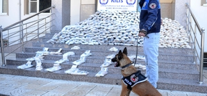 Kilis'te 5 milyon 132 bin uyuşturucu hap ele geçirildi