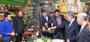 AK Parti Genel Başkan Yardımcısı Yazıcı'nın esnaf ziyareti