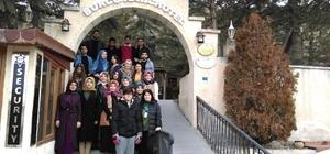 Üniversite öğrencileri Kapadokya ve Erciyes'i gezdi