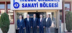 İnegöl OSB Genel Kurulu'nda Zeki Şahin güven tazeledi