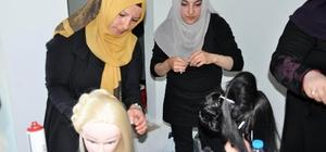Yozgat'ta geleceğin kuaförleri yarıştı
