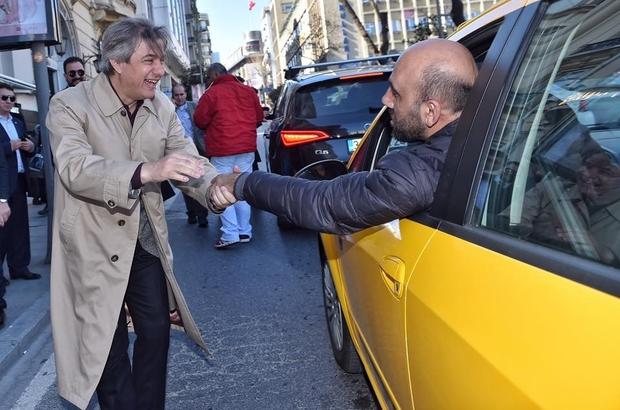 Başkan Demircan, referandum çalışmalarına Şişli'de devam etti