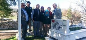 Müdür Yılmaz Uçar'dan yaşlı, hasta ve şehit mezarına ziyaret