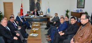 DİSK Genel Başkanı Beko Başkan Albayrak'ı ziyaret etti