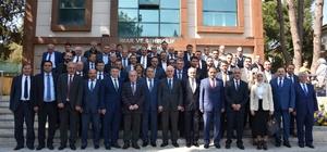 Başkan Çerçi Erol Kaya'yı ağırladı