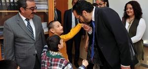 Cavit Bırcan, özel öğrencileri ziyaret etti