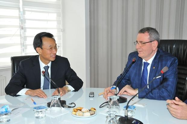 Çinli heyet işbirliği için Samsun'da