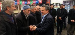 Başkan Tutal, referandum çalışmalarını sürdürüyor