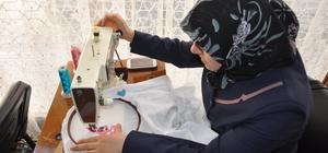 Suriyeli kadınlara mesleki eğitim kursu