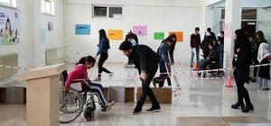 Gaziantep'te ortaokul öğrencilerine Engelsiz Yaşam parkuru