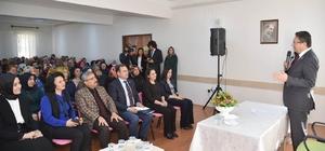Altındağ Belediye Başkanı Veysel Tiryaki Çamlık Mahallesi'nde konuştu