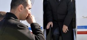 Ulaştırma Denizcilik ve Haberleşme Bakanı Arslan Kars'ta